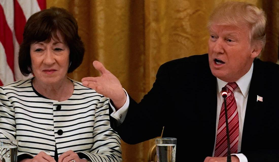Trump rebuffs Susan Collins, insists he didn't learn a 'lesson' from impeachment