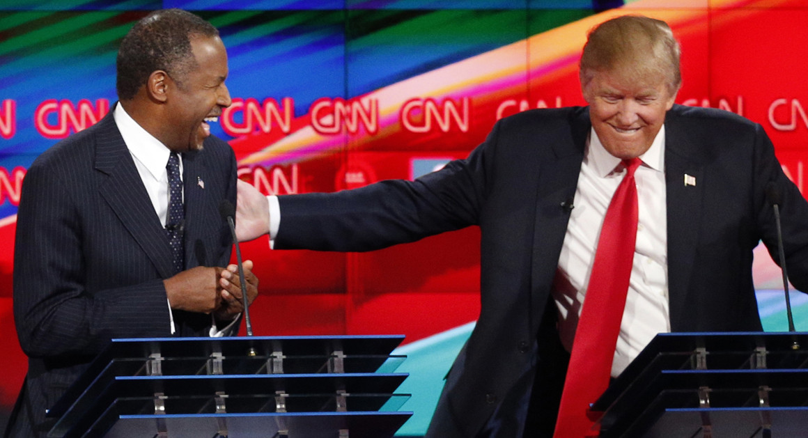 Ben Carson: Trump can't be racist because blacks and Hispanics who work at Mar-a-Lago 'love him'