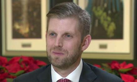Eric Trump desperately tries to resurrect the fake 'War on Christmas' – In February!