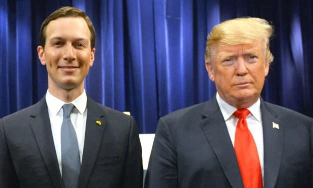 Trump and Kushner named as defendants in war crimes lawsuit