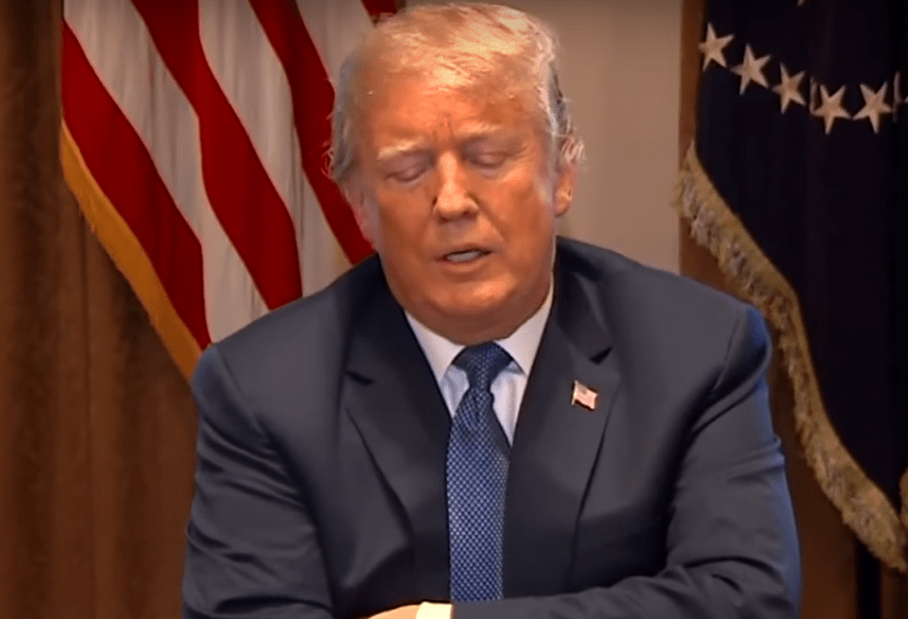 Germaphobe Trump gets hilariously clobbered over tweet attacking Bloomberg
