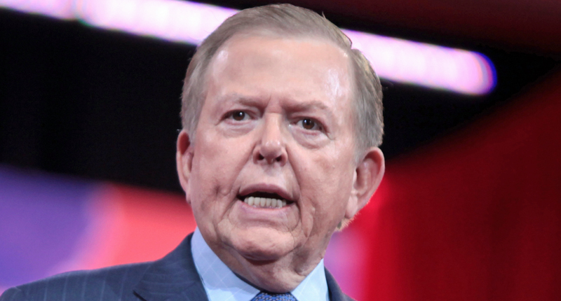 Fox host Lou Dobbs finds a disgusting new way to be a slavish sycophant for Donald Trump