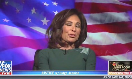 Jeanine Pirro wears a mask and Fox News viewers lose it
