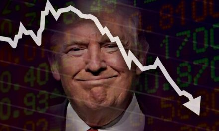 Trump grades his coronavirus response as a perfect 10 as the stock market loses 3,000 points in a day