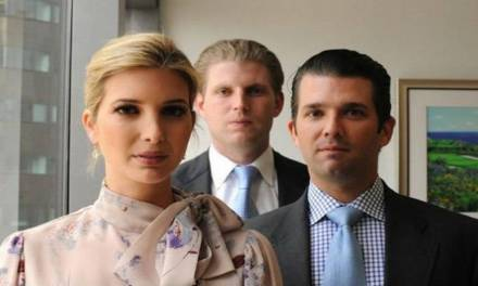 GOP group running ads accusing Donald Trump's kids of being 'grifters'