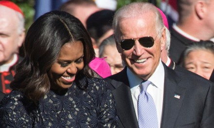 Biden floats idea of Michelle Obama as his running mate: 'I'd take her in a heartbeat'
