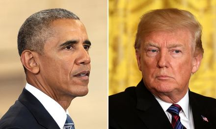 Trump gets flattened for calling the Obama Justice Department a 'scam' and 'evil'
