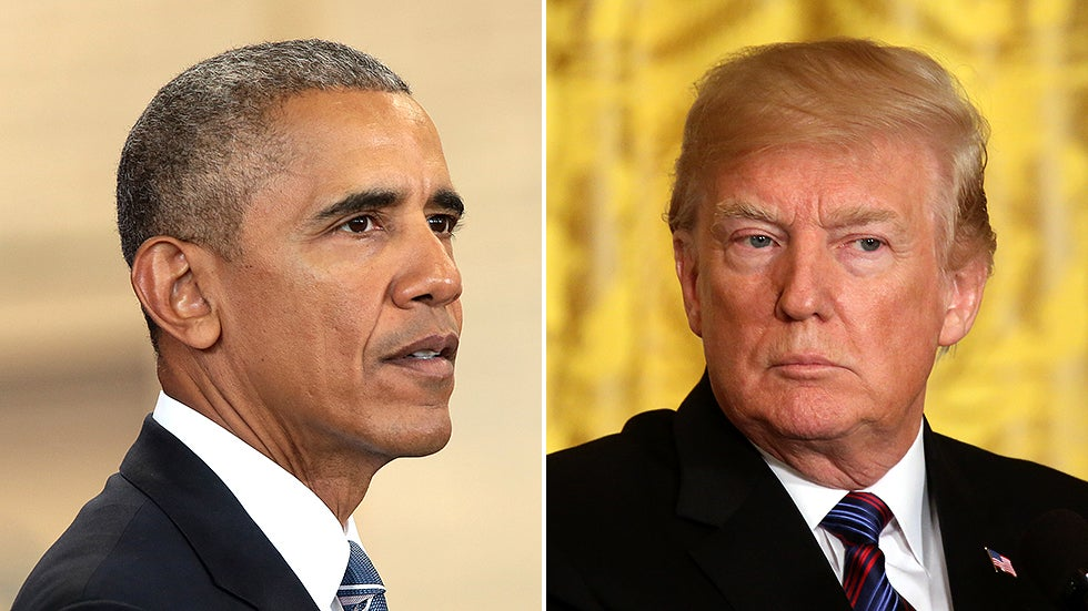 Trump openly and falsely accuses Obama of committing treason