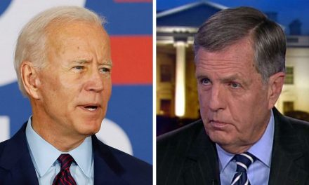 Fox News political analyst gets hit with internet karma after mocking Joe Biden for wearing a mask