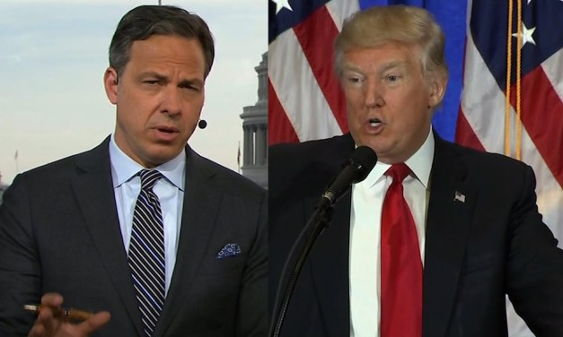 CNN's Jake Tapper rubs Donald Trump's nose in his disgusting hypocrisy about China