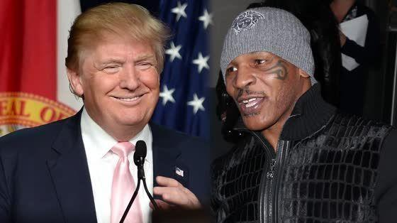 Trump gets slammed after tweeting out praise for convicted rapist Mike Tyson