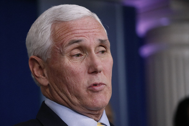 Pence urges governors to mislead public about number of COVID-19 cases in their states
