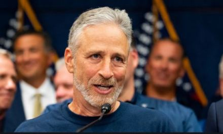Jon Stewart hilariously shuts down Trump's attack on the Screen Actors' Guild