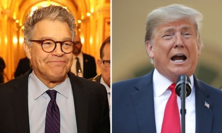Al Franken masterfully trolls Trump for the pathetic turnout at his Oklahoma rally
