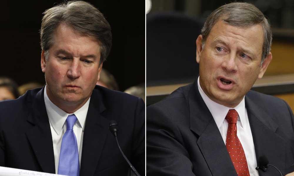 Chief Justice John Roberts smacks down Brett Kavanaugh in DACA ruling