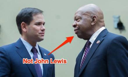 Marco Rubio humiliates himself with John Lewis tribute featuring photo of wrong black lawmaker