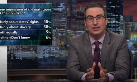 "John Oliver's ""Confederacy"" segment explains everything"