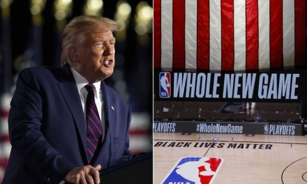 Trump rails against NBA players for getting involved in political activism for racial justice