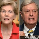 Elizabeth Warren's theory on what happened to Lindsey Graham's spine is pure gold