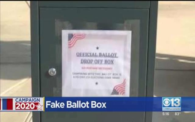 California GOP accused of setting up bogus ballot drop boxes in several counties