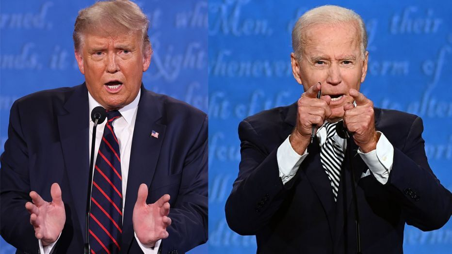 Trump voter says Biden won first debate by wearing contact lenses that were 'projecting' answers