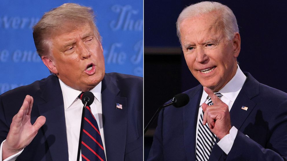 Biden beats Trump in the ratings war after night of dueling town halls