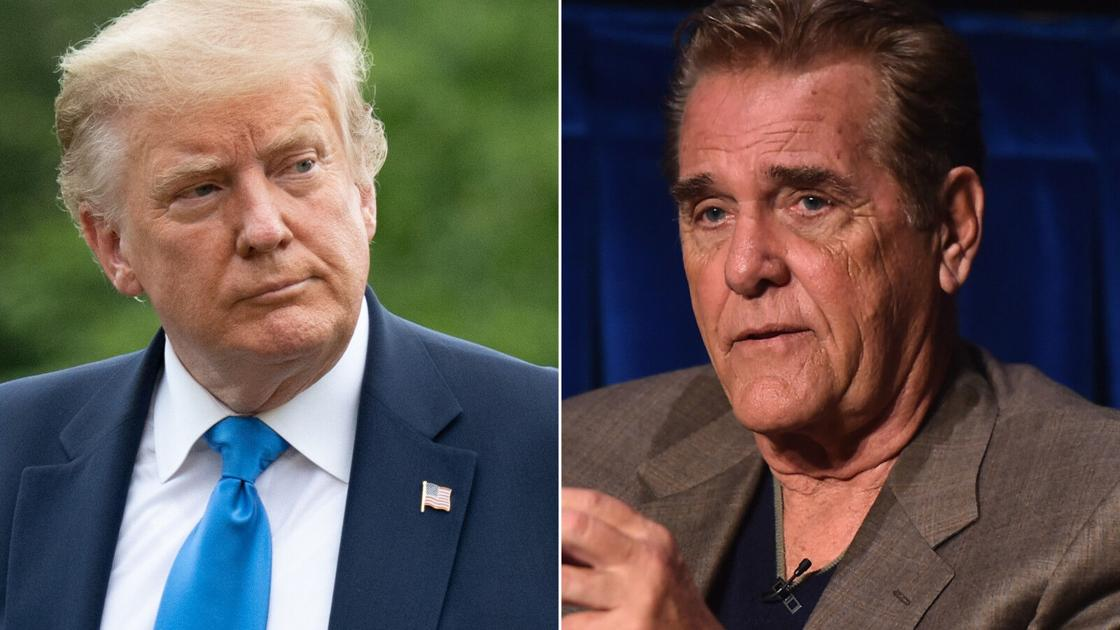Chuck Woolery claims Trump is more trustworthy than Biden and gets pelted with mockery