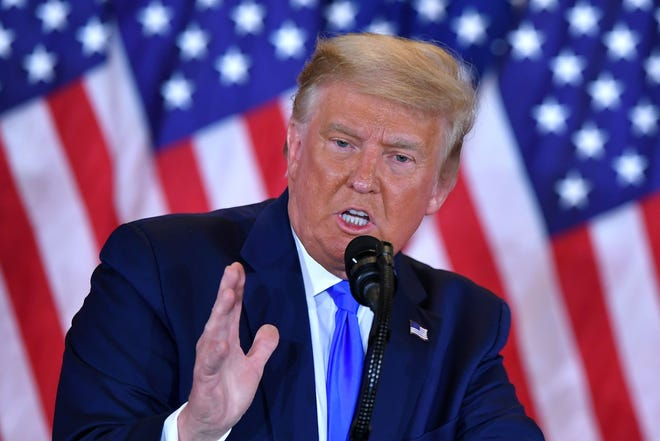 Trump pressures Republicans to increase direct stimulus payments during midnight election rant