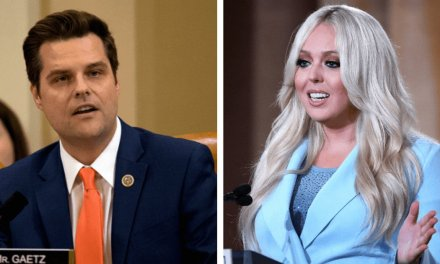 Matt Gaetz's 'creepy' Twitter response to Tiffany Trump causes widespread nausea on social media