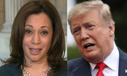 Kamala Harris only needs one word to obliterate the idea of Trump running in 2024