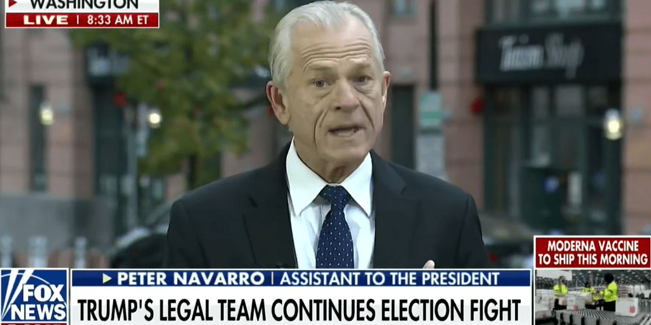 White House trade adviser claims Joe Biden will be an 'illegal' president: 'All hope is lost'
