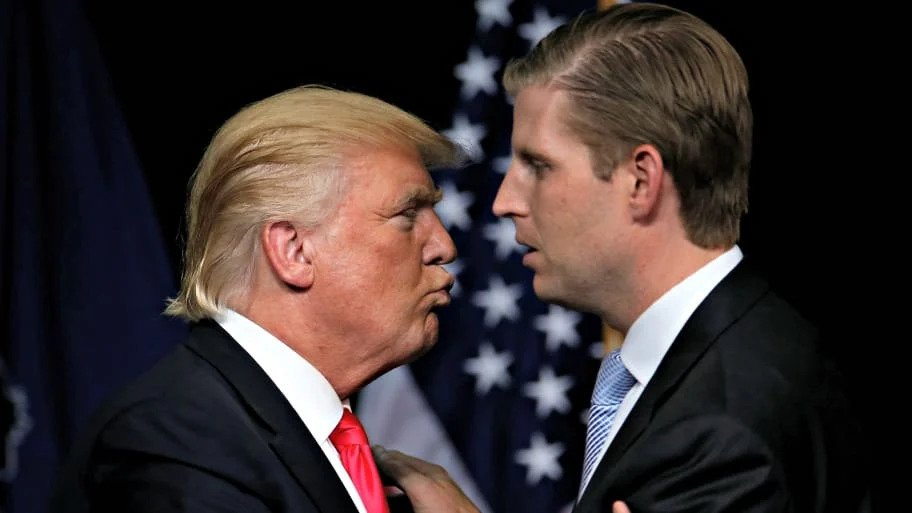 Eric Trump's 'guerrilla marketing' attempt to curry favor with his father gets slapped down on Twitter