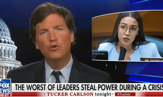 Tucker Carlson gets destroyed online for his 'vile and vicious' attack on Alexandria Ocasio-Cortez