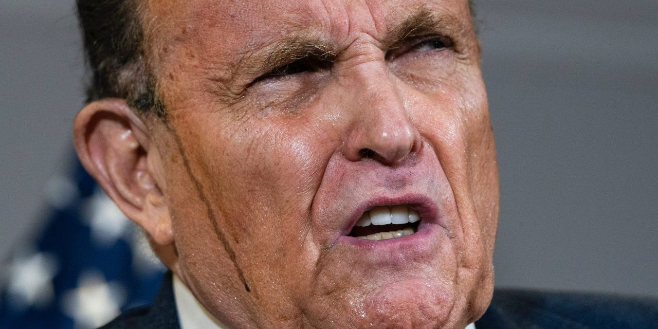 Giuliani gets swatted down after trying to blame Capitol violence on Antifa