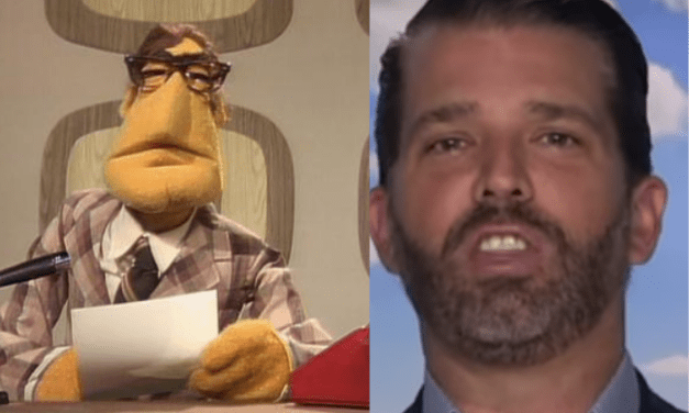 MUPPET NEWSFLASH: Trump Jr. gets humiliated for claiming that Disney has 'canceled' The Muppets