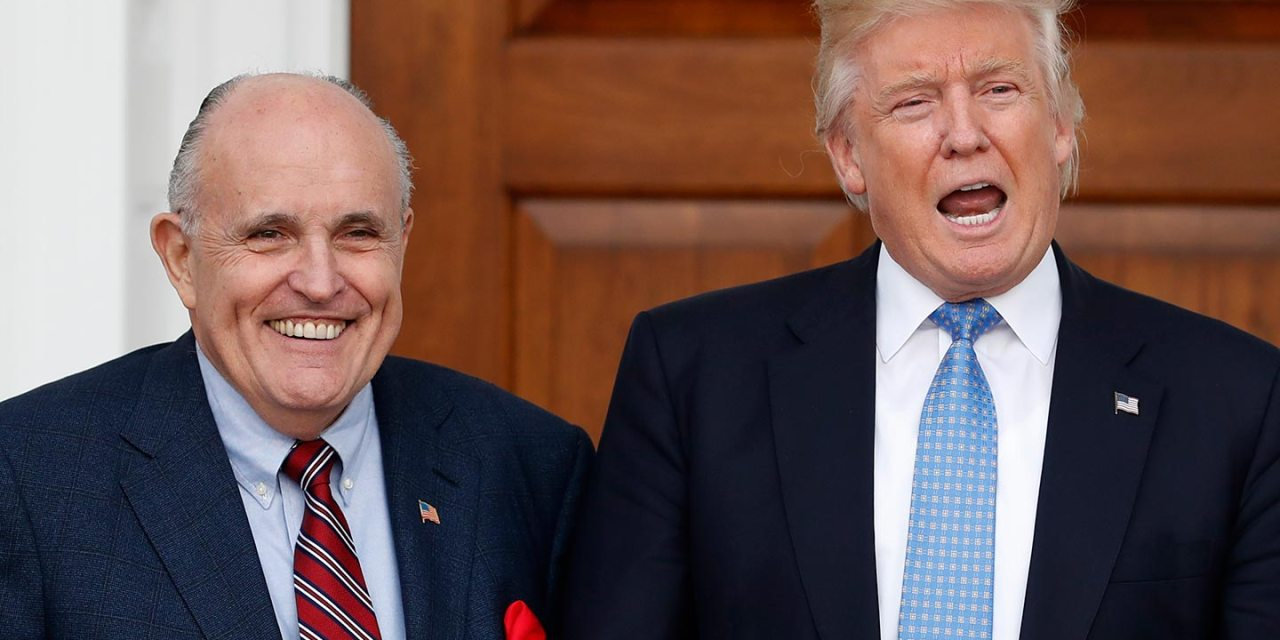 Lawsuit accuses Trump and Giuliani of violating the 1871 KKK Act by inciting Capitol insurrection