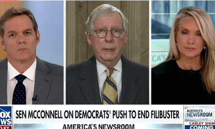 McConnell whines to Fox News that he hasn't been invited to the White House since Biden was elected