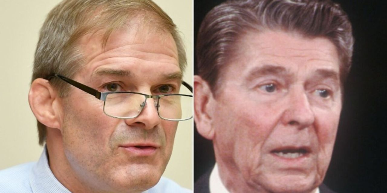 Jim Jordan gets humiliated when he attempts to channel Ronald Reagan