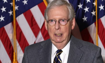 McConnell whines that new security measures at the Capitol make it feel like Afghanistan