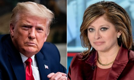 Trump tells Maria Bartiromo that he 'may be the most honest person' in bizarre interview
