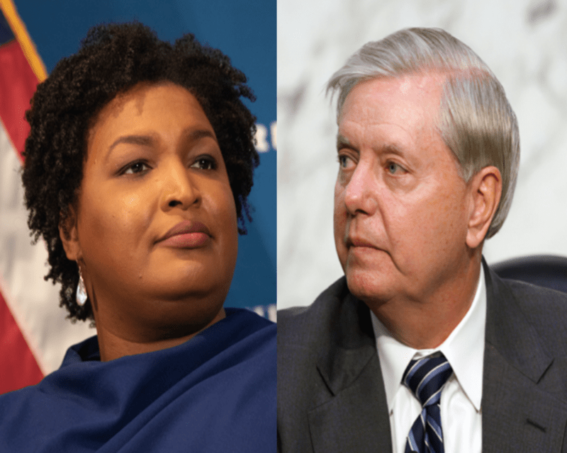 Stacey Abrams schools Lindsey Graham at Senate hearing on voting rights