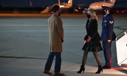 Conservatives have a full-scale hissy fit after Dr. Jill Biden wears a pair of tights with designs on them