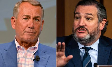 Ted Cruz gets slapped down for saying he'll burn John Boehner's new book