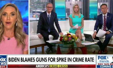 Lara Trump questions validity of Fox poll on Biden's popularity and gets shut down by host