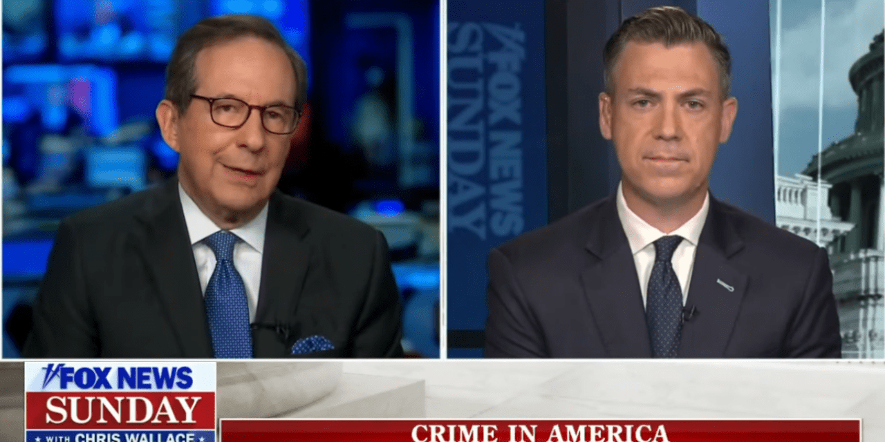 Chris Wallace shreds Republican – Tells him it's the GOP who's 'defunding the police'