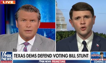 Texas Democrat flattens Fox News host for 'spewing lies and conspiracy theories'