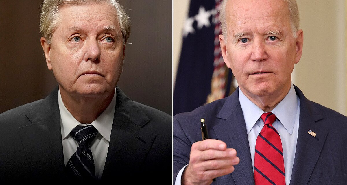 Lindsey Graham suggests the GOP may impeach Biden over pullout from Afghanistan