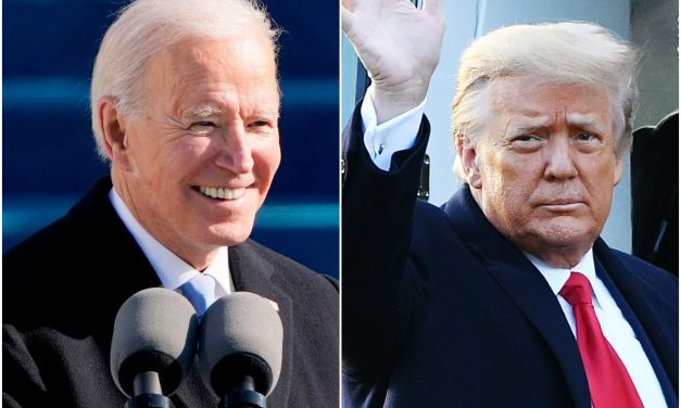 President Biden just threw some big time shade at Trump without even saying his name