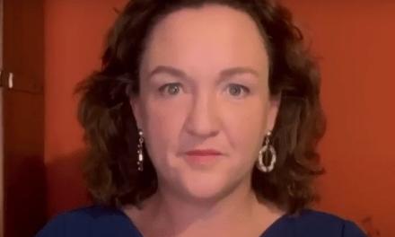 Katie Porter drags Joe Manchin for threatening to block budget bill
