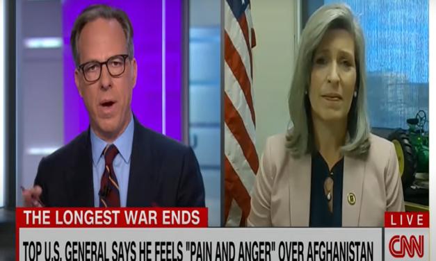 Jake Tapper fact-checks Joni Ernst for saying Biden never thanked vets who served in Afghanistan